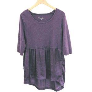Soft Surroundings 3/4 Sleeve Layered Tunic